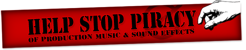 Help Stop Piracy of Royalty Free Music and Sound Effects